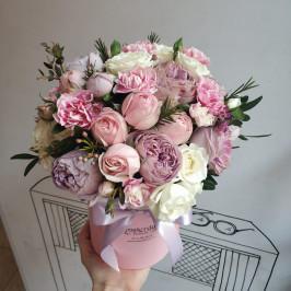 Букет Розовый градиент