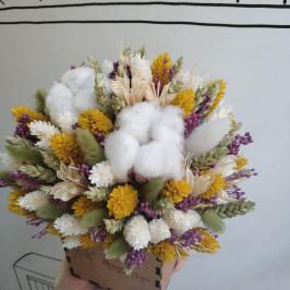Ящик с сухоцветами №20