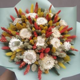 Букет из сухоцветов №21