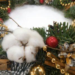 Рождественский венок №1