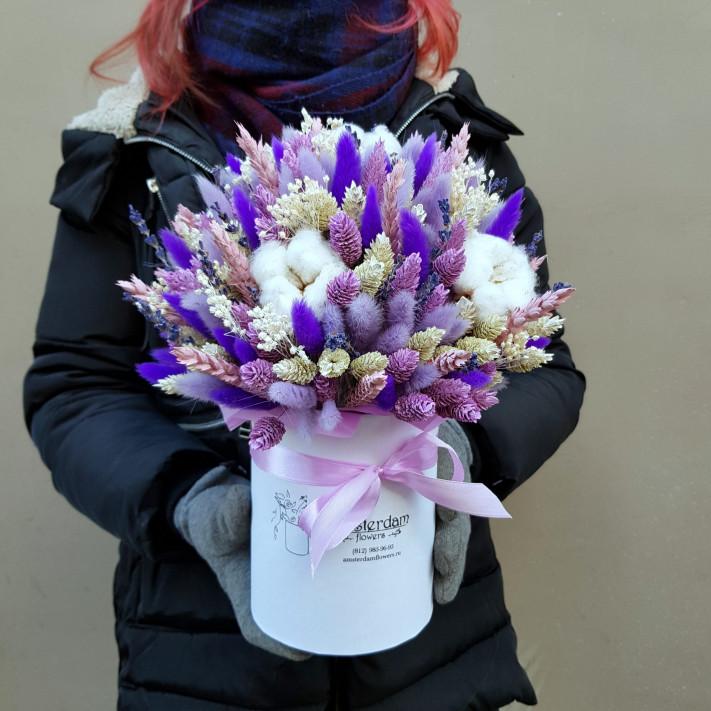 Букет из сухоцветов №37