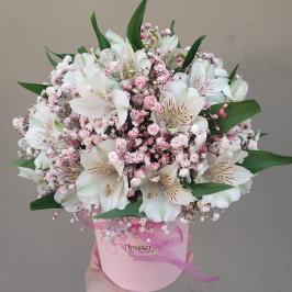 Альстромерии в розовом